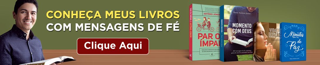 Livros do Pastor Antonio Junior
