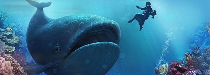 Resultado de imagem para jonas no ventre da baleia